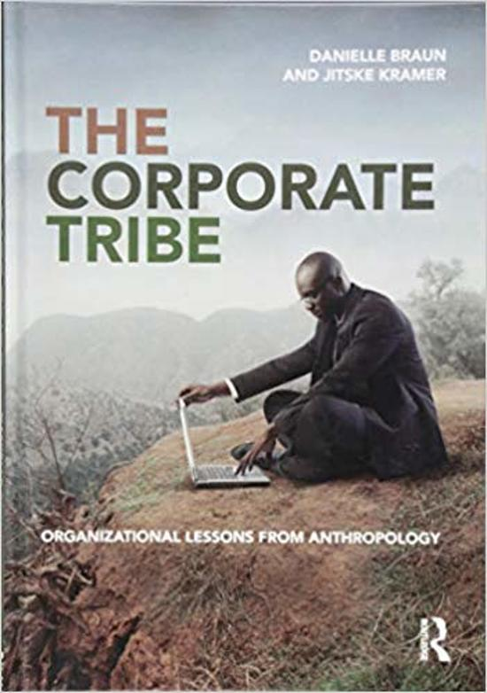 Boek cover The Corporate Tribe van Danielle Braun (Hardcover)