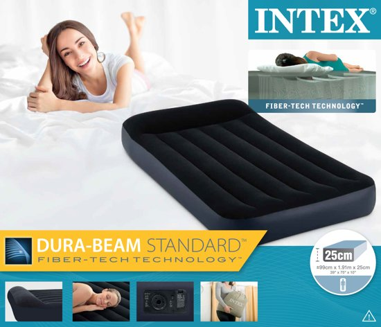 Intex Pillowrest Classic Luchtbed Twin