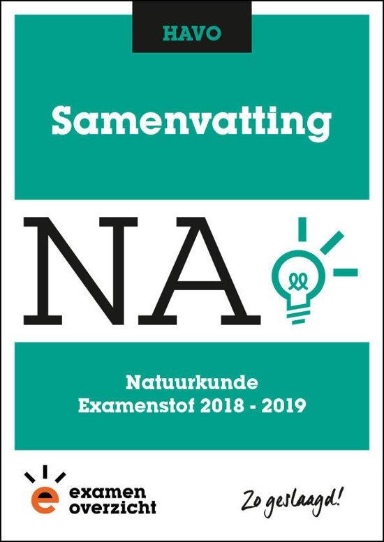 ExamenOverzicht - Samenvatting Natuurkunde HAVO