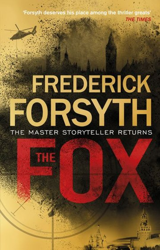 Boek cover The Fox van Frederick Forsyth (Onbekend)