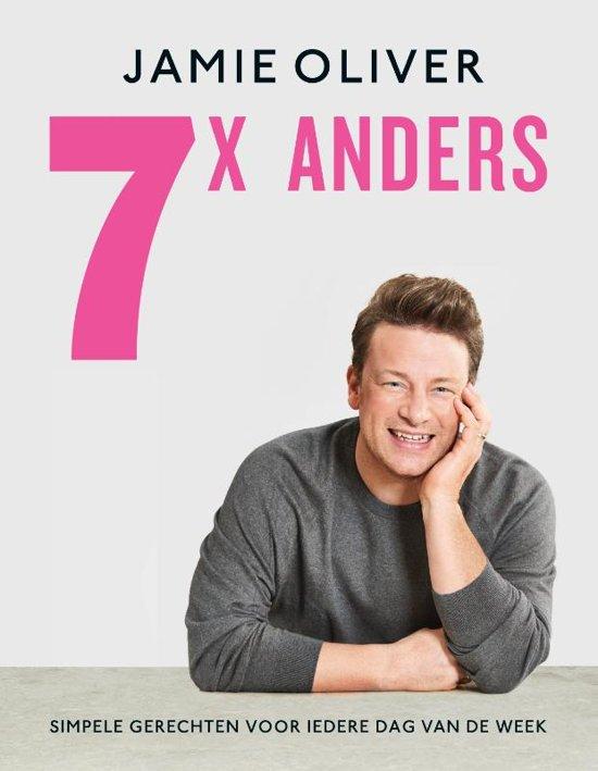 Boek cover Jamie Oliver - 7 x anders van Jamie Oliver (Hardcover)