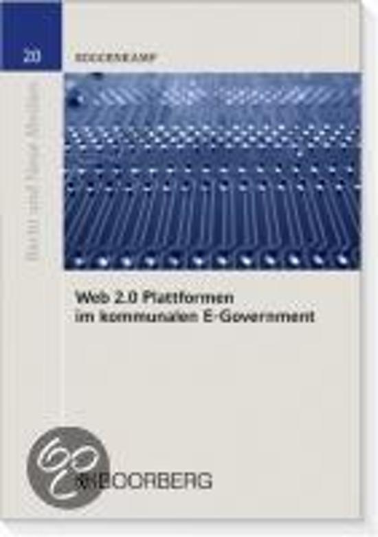 Web 2.0 Plattformen im kommunalen E-Government