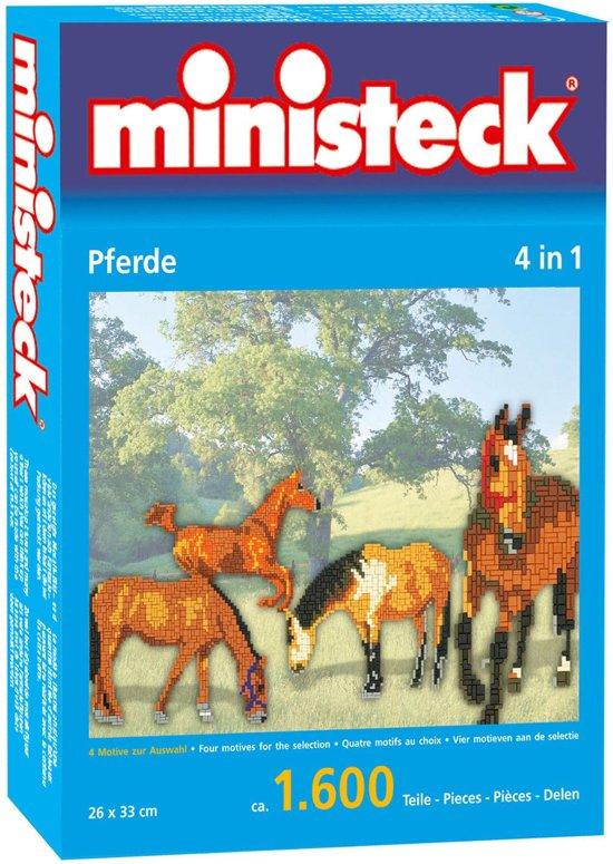 Ministeck Paarden 4 in 1