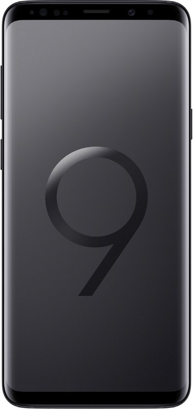 Samsung Galaxy S9+ - 64GB - Midnight Black (Zwart)