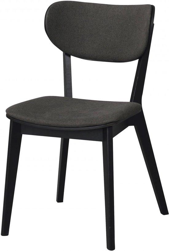 Houten Stoel Armleuning.Cato Chair Houten Stoel Grijs