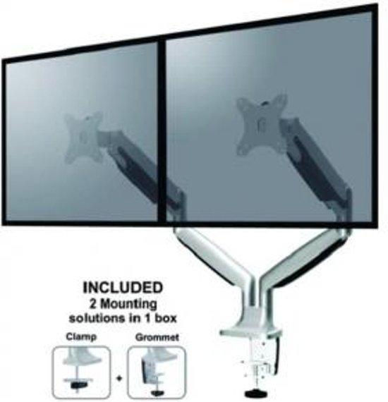 NewStar FPMA-D750DSILVER bureausteun voor flatscreens