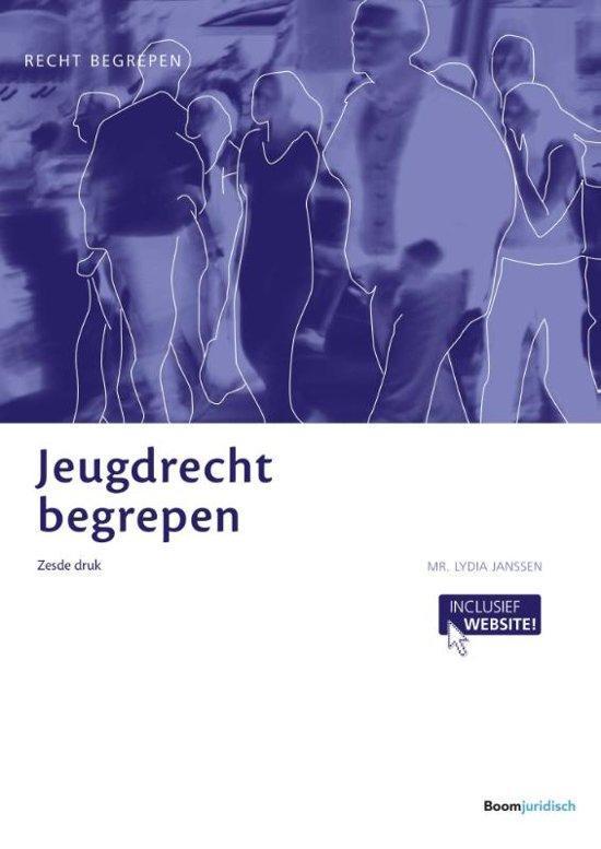 Boek cover Recht begrepen - Jeugdrecht begrepen van Lydia Janssen (Paperback)