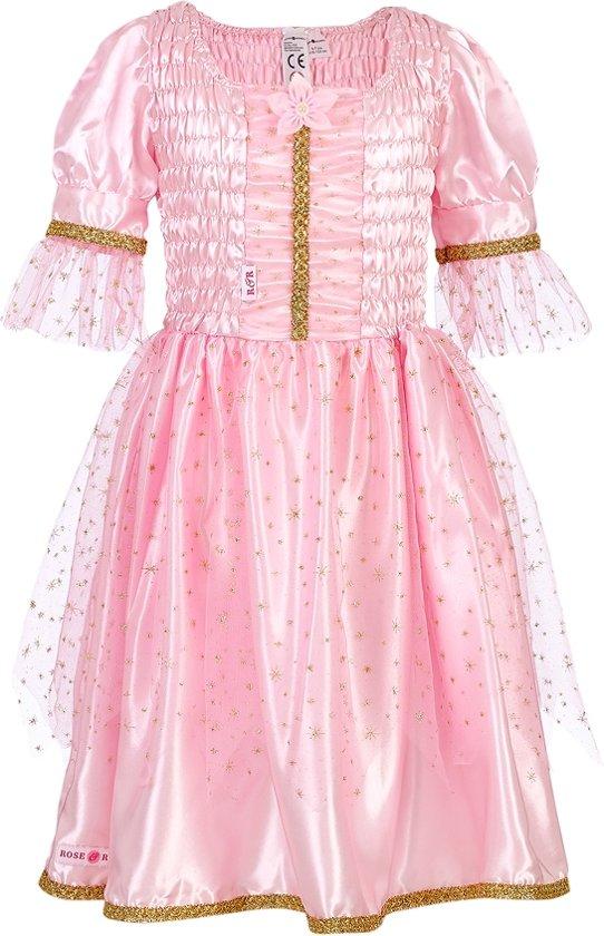 Prinses Samara jurk, roze (5-7 jaar) 110/122