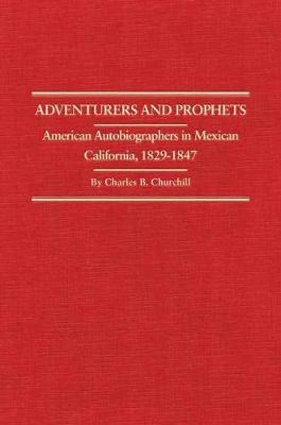 Adventurers and Prophets