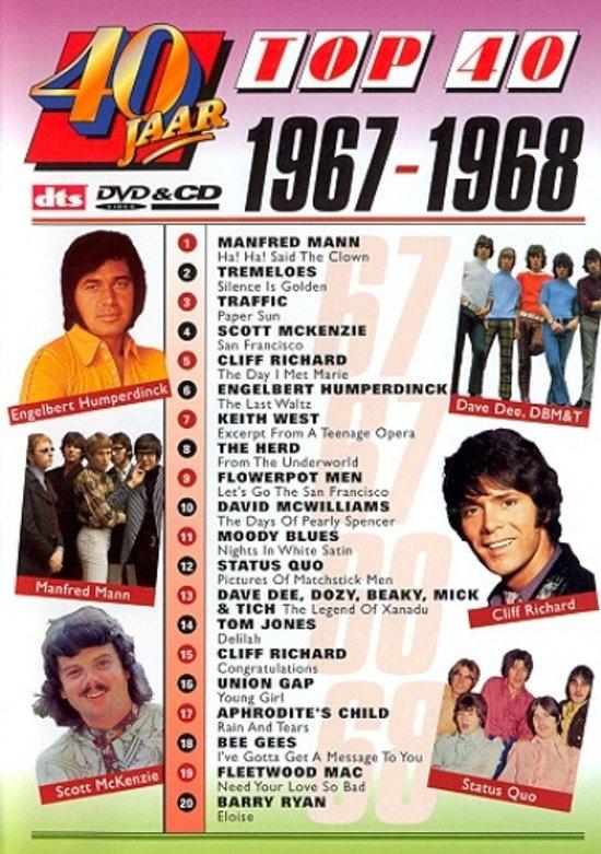 40 jaar top40 bol.| Top 40   1967   1968 (Dvd) | Dvd's 40 jaar top40