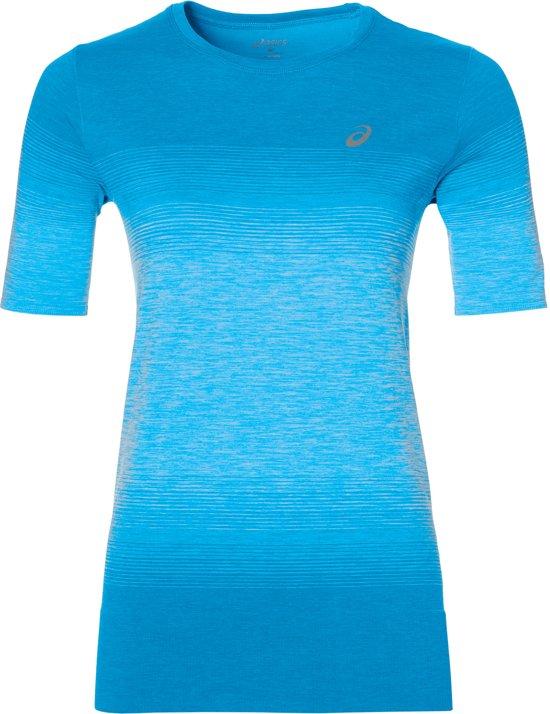 Asics FuzeX Sportshirt - Maat S  - Vrouwen - blauw
