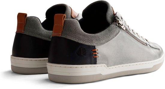 Nogrz Maat Heren Grijs Leren 41 C Sneakers maderno 1qTf61