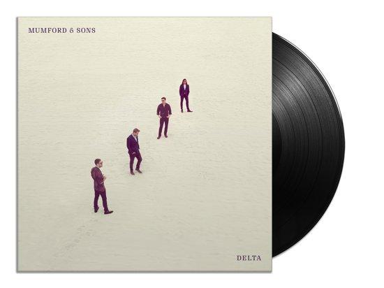 CD cover van Delta (LP) van Mumford & Sons