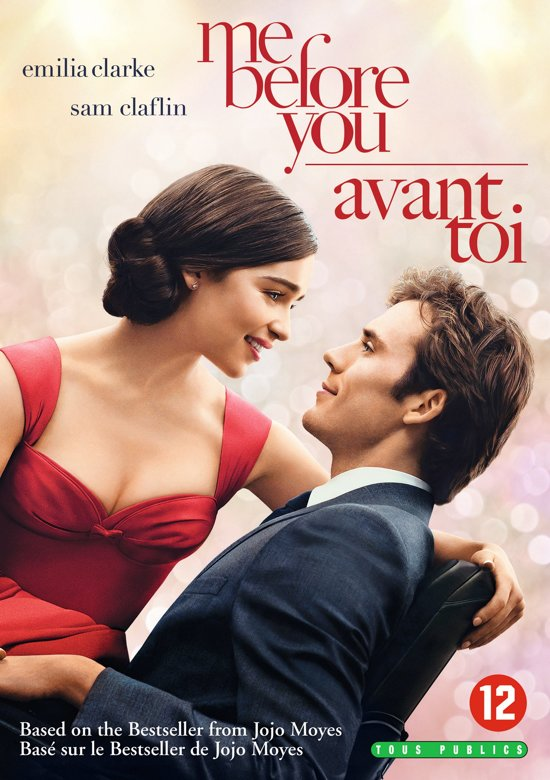 DVD cover van Me Before You
