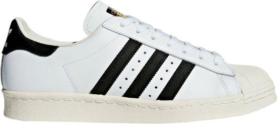 adidas Superstar 80s Sneakers Unisex Zwart Maat 44