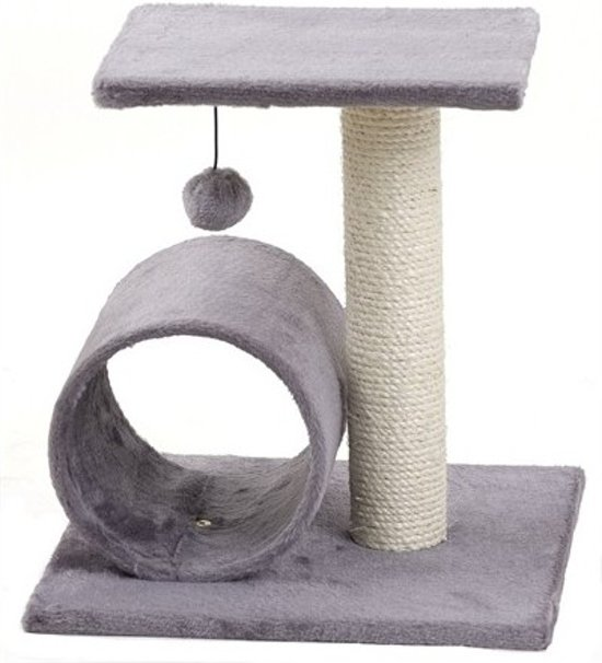 Krabpaal Binky - Grijs 38 x 38 x 40 cm