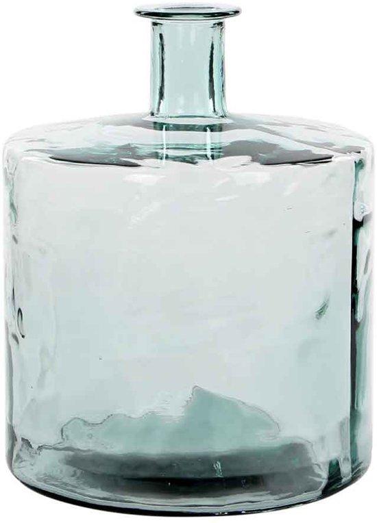 Mica Guan - Fles - Transparant - h44 cm - Glas