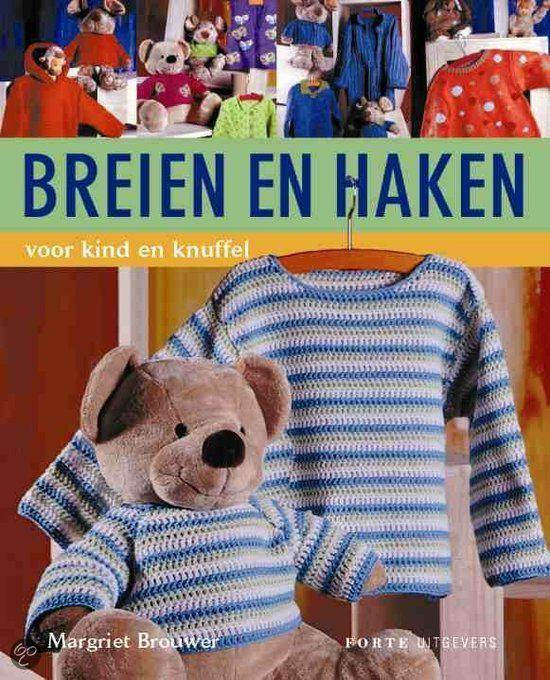 Bolcom Breien En Haken Voor Kind En Knuffel Margriet Brouwer