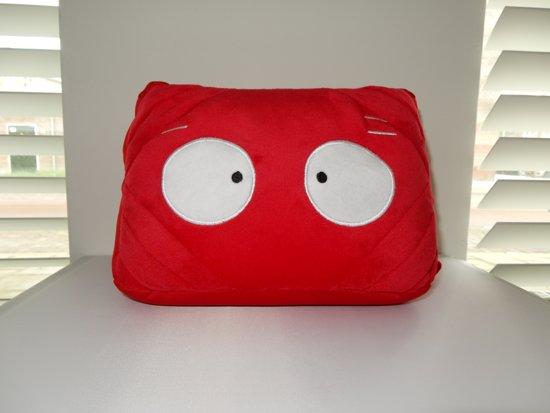i-tabby - tablethouder & reiskussen in 1 - red