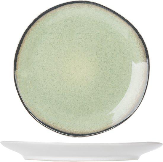 Cosy&Trendy Fez Plat Dinerbord - Ø28 cm - Groen