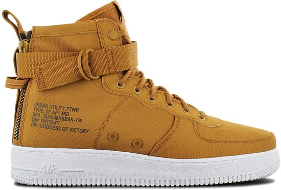 best authentic da85c 0475c Nike Air Force 1 SF Mid 917753-700, Mannen, Bruin, Sneakers maat