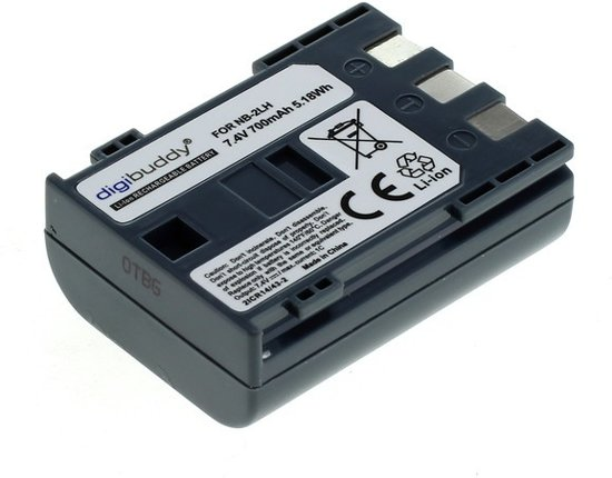 Accu voor Canon NB-2LH 700mAh ON2668