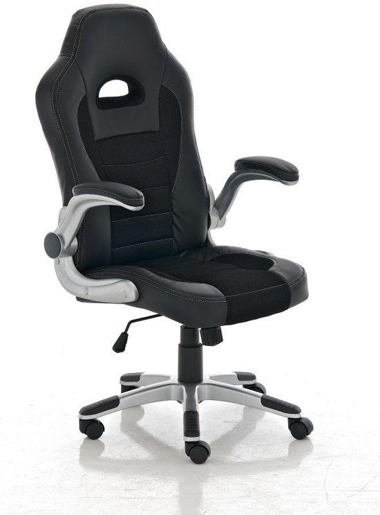 bol | clp john gaming bureaustoel - kunstleer - zwart