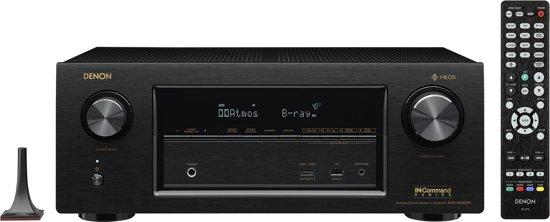 Denon AVR-X3400H 105W 7.2kanalen Surround 3D Zwart AV receiver