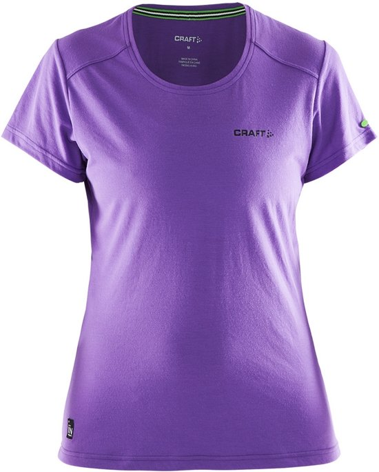 Craft Hardloopshirt zone the Xs In Dames Violet Maat Rj54A3Lq