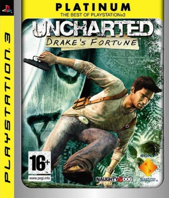 Uncharted: Drake's Fortune (PLATINUM) /PS3 kopen