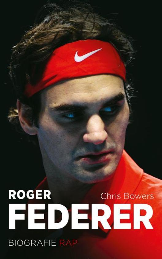 Cover van het boek 'Roger Federer'