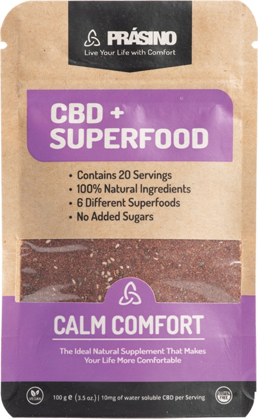 Prásino CBD Superfood Calm Comfort