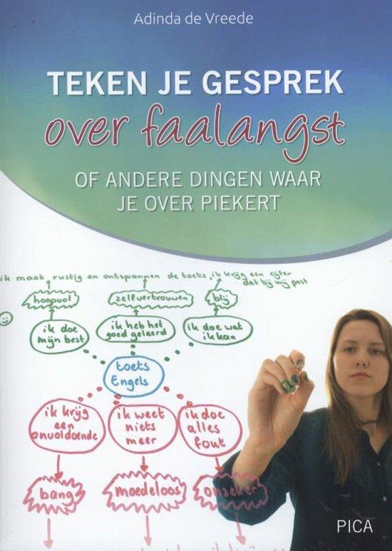 Boek cover Teken je gesprek over faalangst van Adinda de Vreede (Paperback)