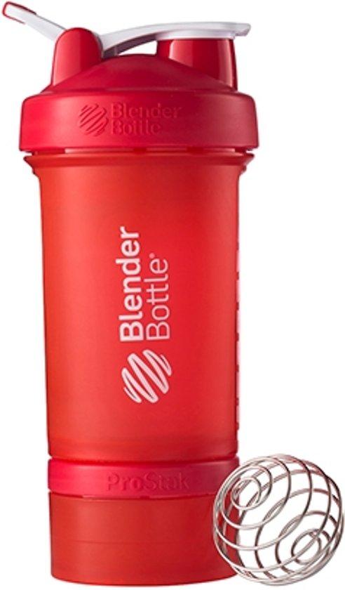 bol com blenderbottle™ prostak rood fc eiwitshaker bidon