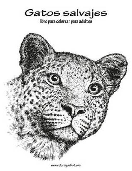 bol.com | Gatos Salvajes Libro Para Colorear Para Adultos 1, Nick ...