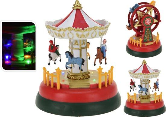 bol.com | Kermis attracties - Carrousel - Reuzenrad - Kerstdorp ...