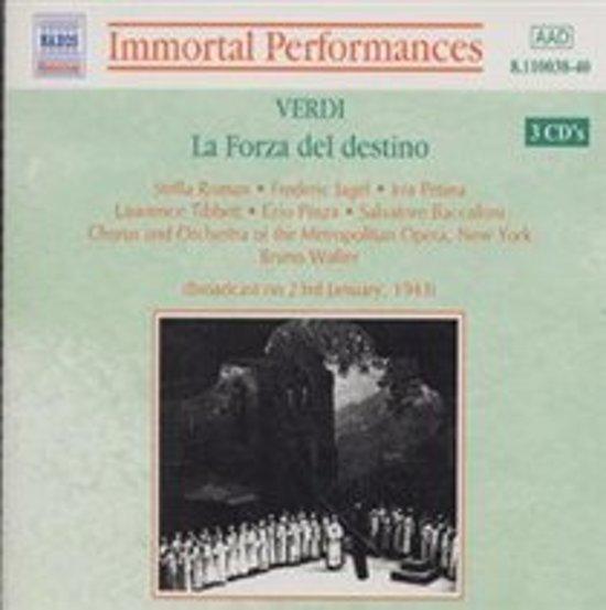 Verdi: La Forza del Destino / Roman, Jagel, Walter