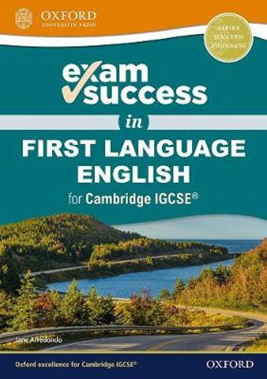 Exam Success in First Language English for Cambridge IGCSE (R)