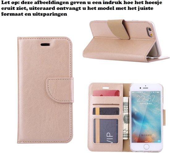 Xssive Hoesje voor LG G4 H815 -  Book Case Goud