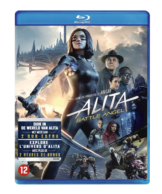 DVD cover van Alita: Battle Angel (Blu-ray)