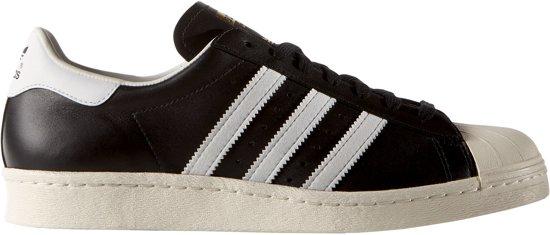 adidas Superstar 80s Sneakers - Maat 39 1/3 - Unisex - zwart/wit
