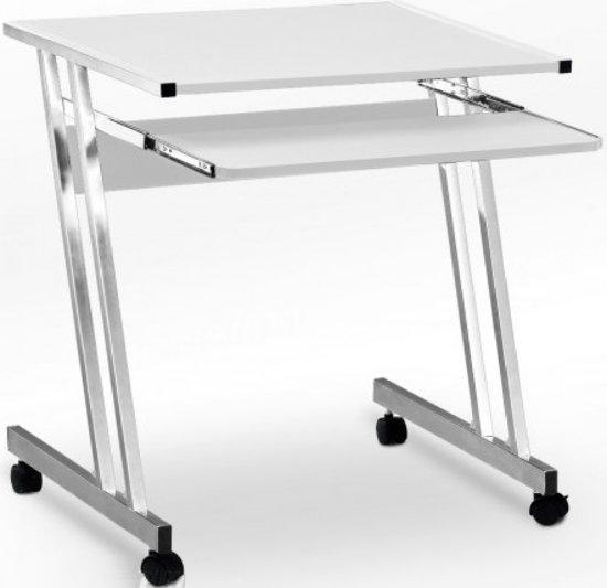 Computertafel - 62x48x73cm - wit