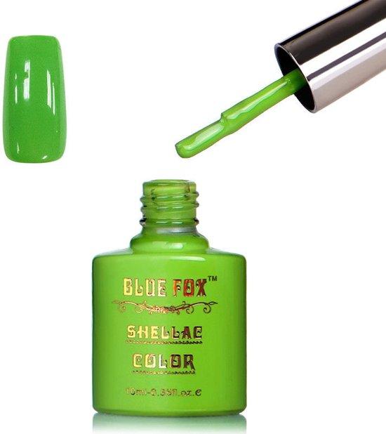 Blue Fox Green Grass Gelnagellak