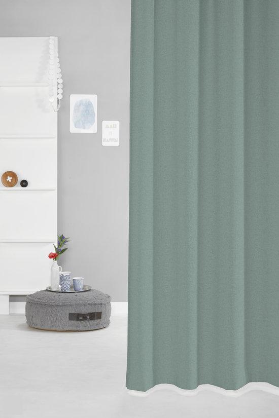 bol.com | Joost - Plooigordijn - Groenblauw - 140x280 cm - Per stuk