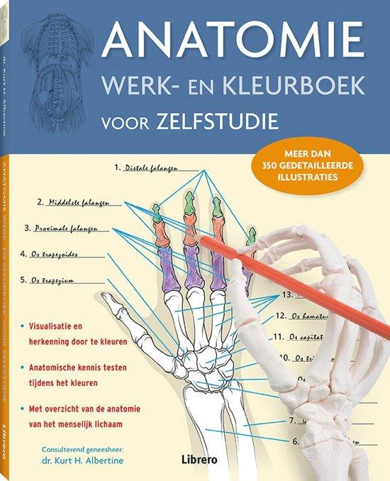 Anatomie Werk en kleurboek voor zelfstudie