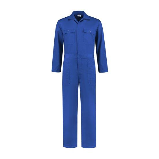 Yoworkwear Kinderoverall polyester/katoen korenblauw maat 98