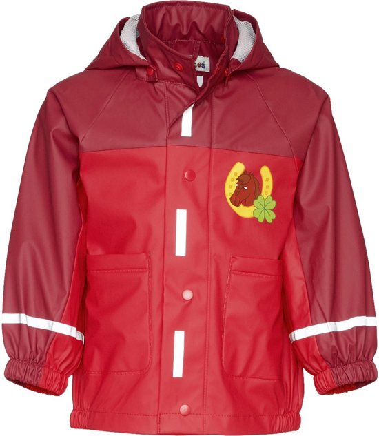 223f1a5f7ef bol.com | Regenjas Playshoes Paard-rood-128