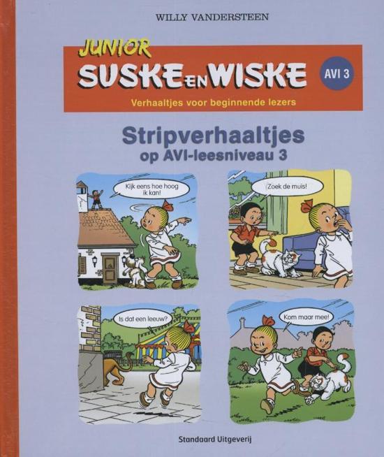 Junior Suske en Wiske  - Stripverhaaltjes AVI (E3/M4)
