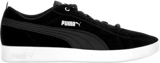 19d437c62b5 PUMA Smash Wns V2 Sd Sneakers Dames - Puma Black   Puma Black - Maat 37.5