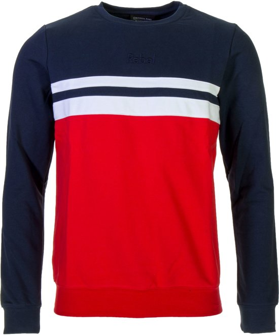 Mannen Trui.Bol Com Colourful Rebel Trui Maat S Mannen Rood Blauw Wit